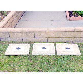 Solar LED Stepping Stone