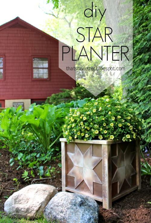 Star Planter Plan