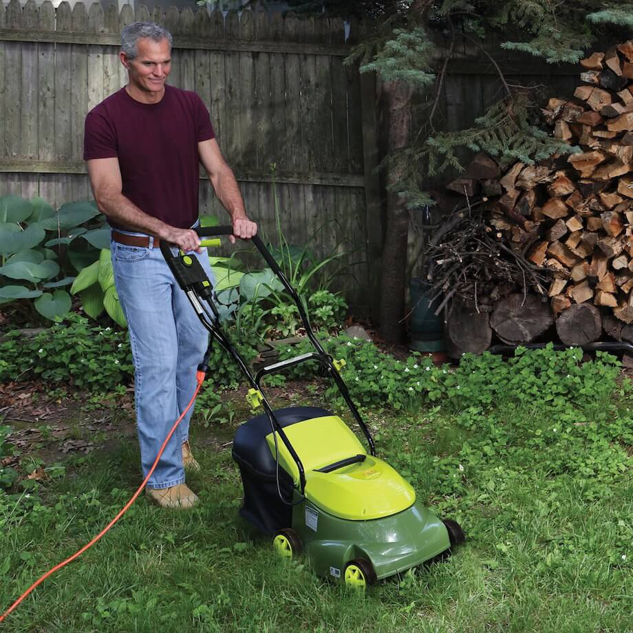sun joe 14 inch electric corded mower