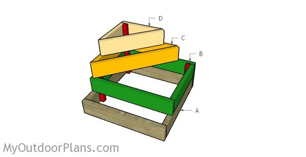 Tiered Raised Bed Plan