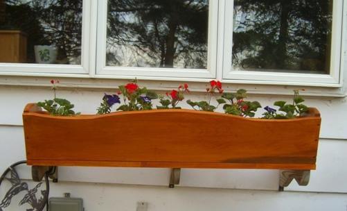 Window Planter Box Plan