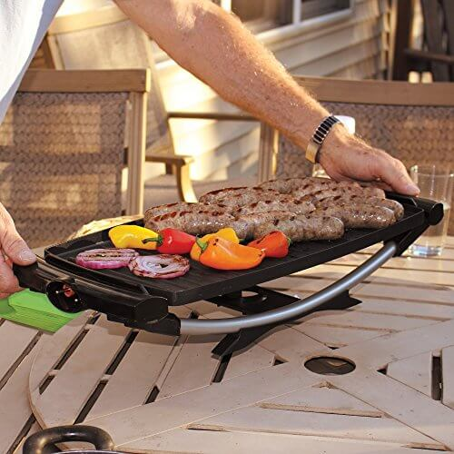George Foreman GFO201R Indoor/Outdoor Electric Grill • Insteading