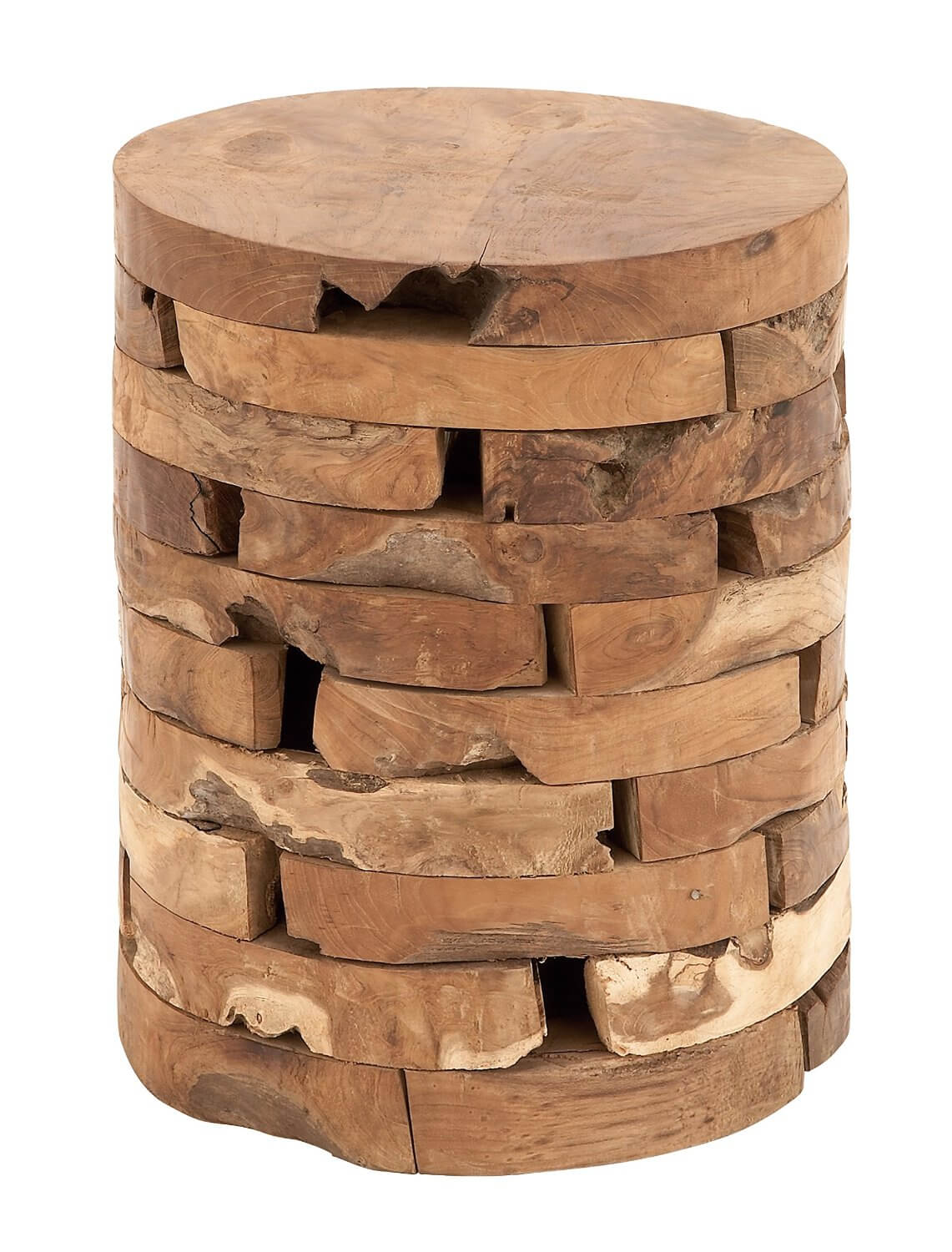 Artisan Teak Wood Stool