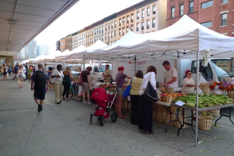 the hoboken farmers market