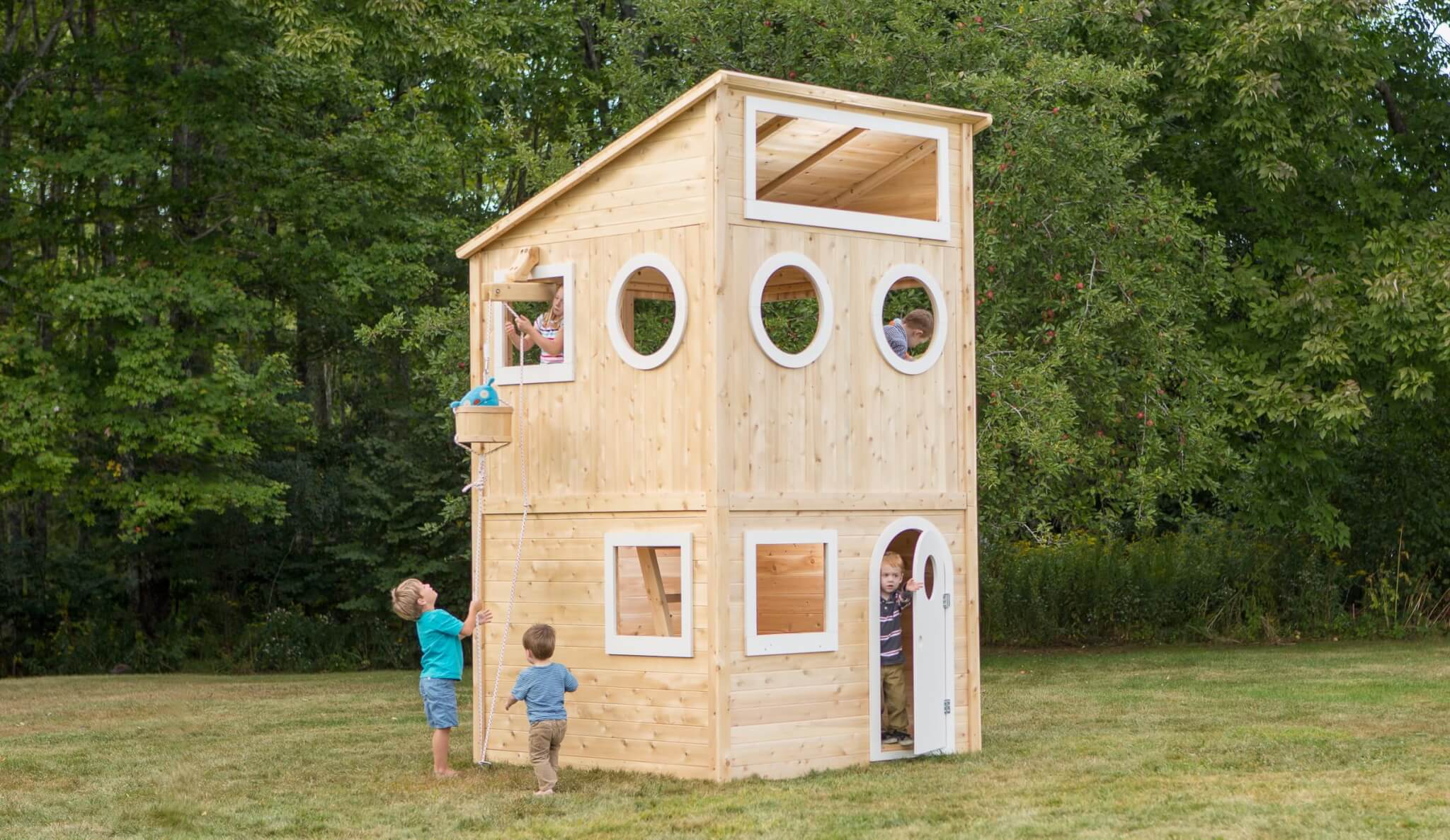 Modern-Design Playhouse