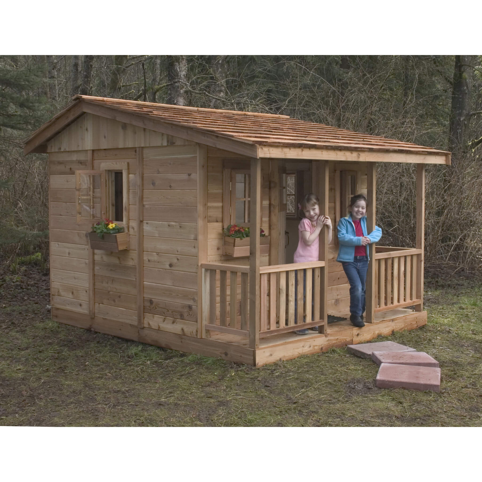 Red Cedar Cabin Playhouse