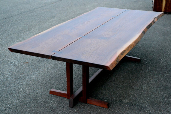 Walnut Nakashima Dining Table