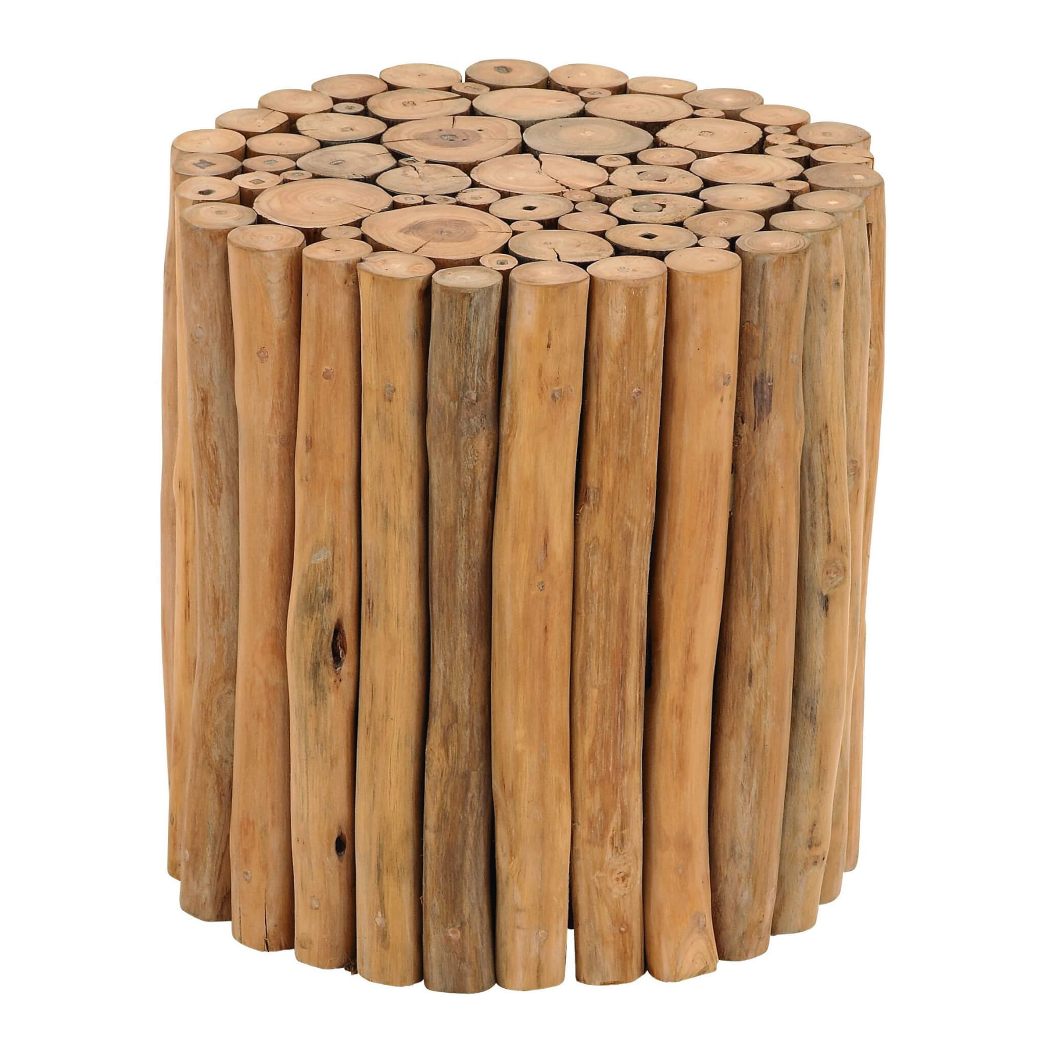 Woodpile Stick Stool