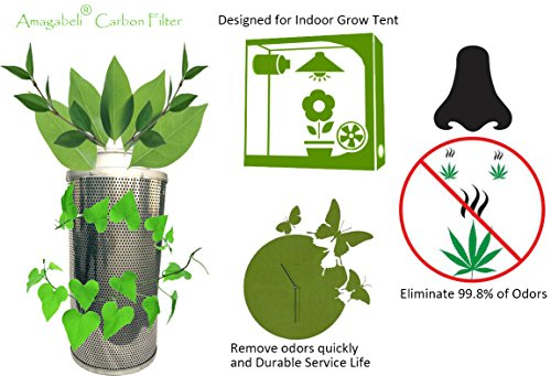 $45.99 $34.99  sc 1 st  Insteading & Amagabeli 4-In. Carbon Air Filter for Hydroponic Indoor Grow Tent ...