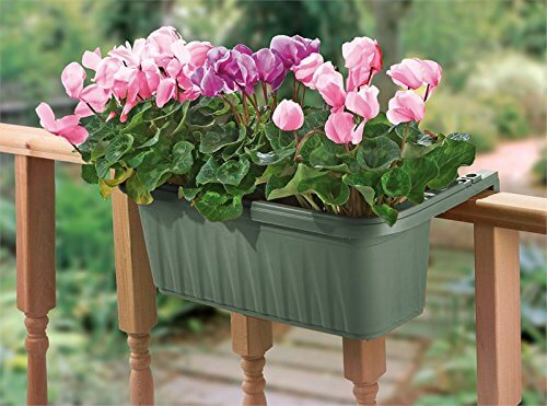 Bama Adjustable Railing Planter Insteading