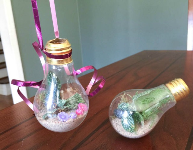 Easy Upcycling Turn A Light Bulb Into A Terrarium Vase Insteading