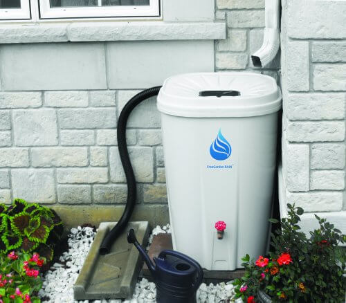 Enviro World Corporation Free Garden 55 Gallon Rain Barrel
