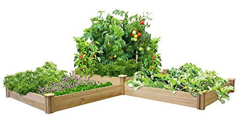 Greenes Fence Two Tiers Dovetail Raised Garden Bed Insteading