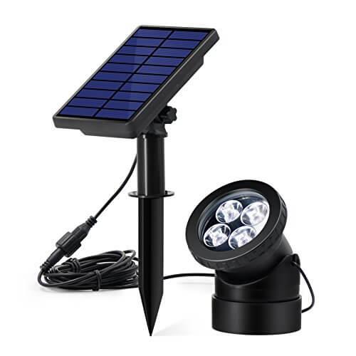 Innogear Solar Powered Usb Pond Light Insteading