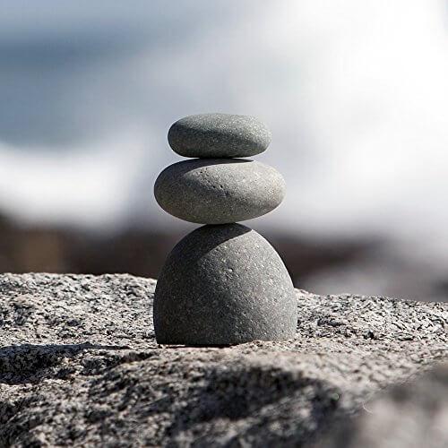 Natural River Rock : Natural river stone rock cairn insteading
