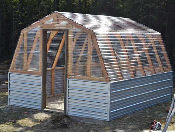 Greenhouse Plans • Insteading
