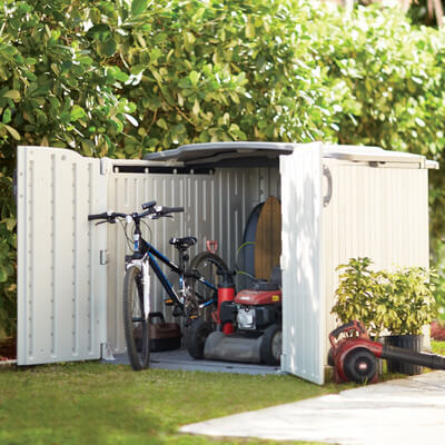 Basic Plastic Shed