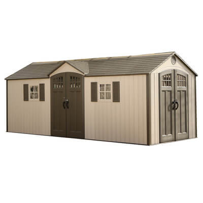 Doublewide Garden Shed