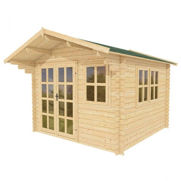 Eco-Friendly Wooden Shed