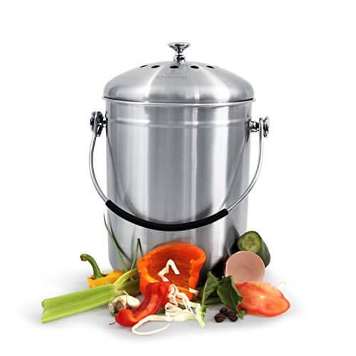 Compost Bin for Kitchen Countertop