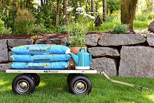 Gorilla Carts Heavy,Duty Steel Utility Cart 1000 lb Capacity