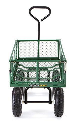 Gorilla Carts Steel Garden ...