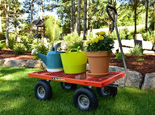 Gorilla Carts Steel Utility Cart ...