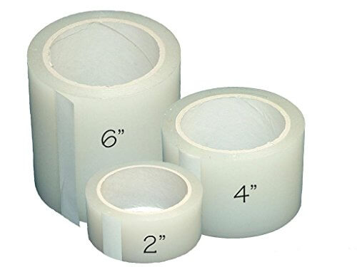 Plastic poly permanent repair tape uv clear insteading for How strong is acrylic glass