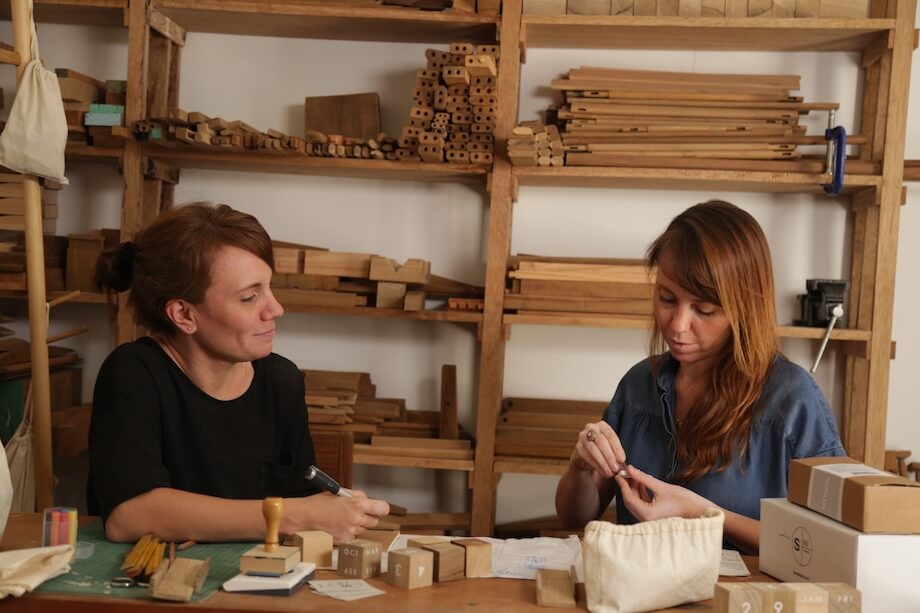 maria teresa and alejandra sarmiento at work