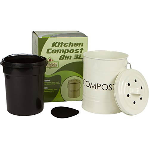 The Relaxed Gardener Kitchen Compost Bin