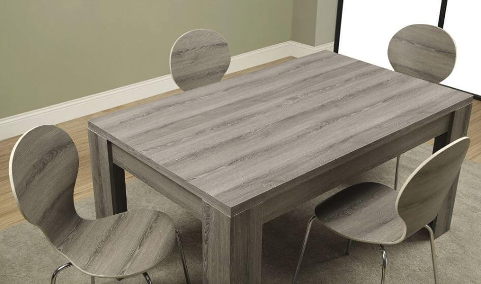 Contemporary Wood Dining Table