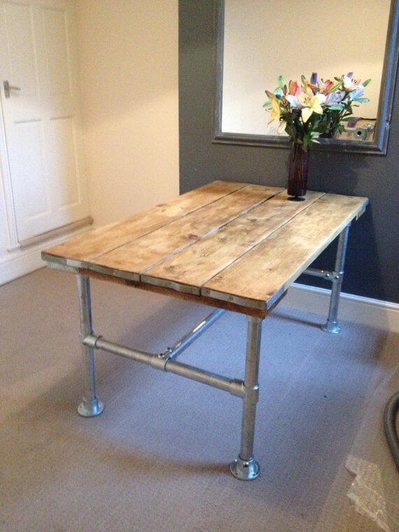 Galvanized Steel Table