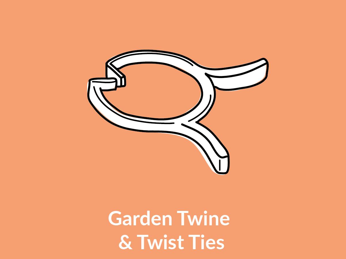 Garden Twine & Twist Ties
