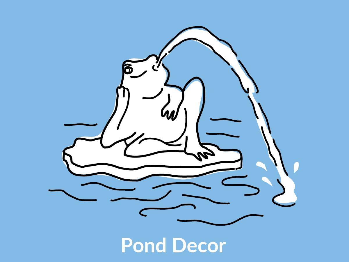 Pond Décor