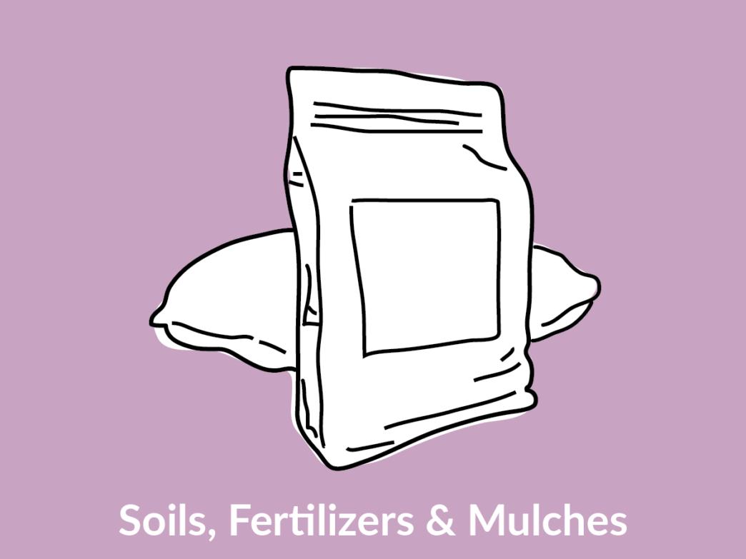 bags of soil