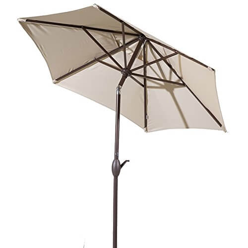 Abba Patio 7 1 2 Ft Round Outdoor Market Patio Umbrella Insteading