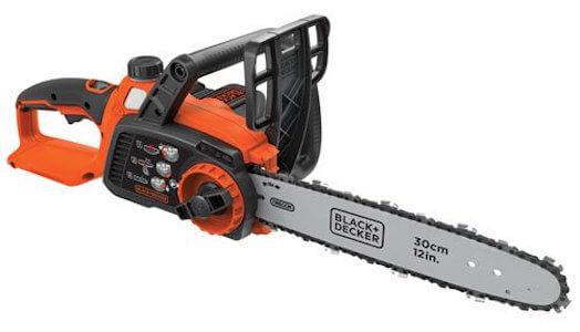 BLACK+DECKER LCS1240 40V MAX Lithium Ion Chainsaw, 12