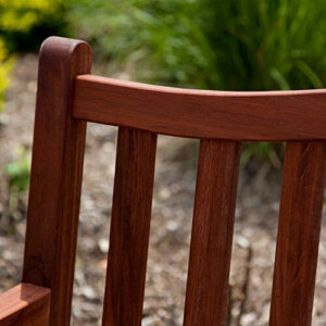 Belham Living Richmond 51 in. Curved-Back Outdoor Wood ... on Belham Living Richmond Bench id=35416