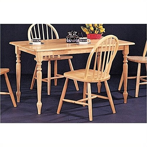 Butcher Block Kitchen Tables And Chairs: Damen Butcher Block Farm Table €� Insteading