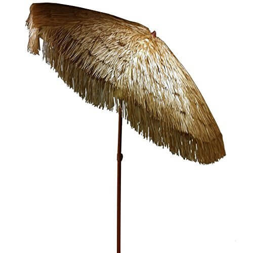 Merveilleux EasyGo 6.5 Ft. Thatch Patio Tiki Umbrella