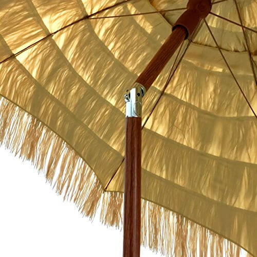 EasyGo 6.5 Ft. Thatch Patio Tiki Umbrella