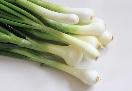 a few green onions