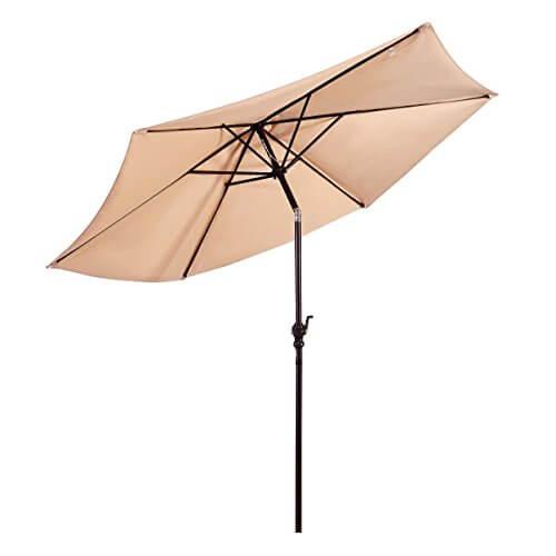 Giantex 10 Ft Patio Umbrella