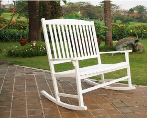 Porch Double Rocker Rocking Chair