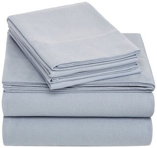 Pinzon 170 Gram Velvet Flannel Sheet Set