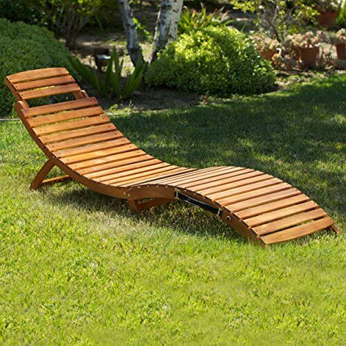 Exceptional Lisbon Outdoor Folding Chaise Lounge Chair