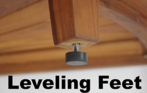 Sumba 30 in. Teak Shower Bench with Shelf • Insteading