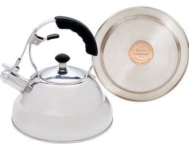 chef's secret stainless steel tea kettle