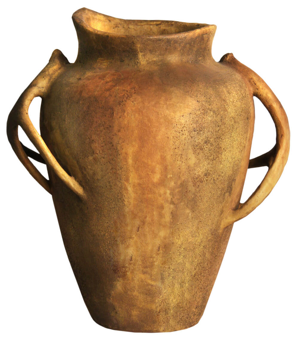 Fiberstone Urn Planter