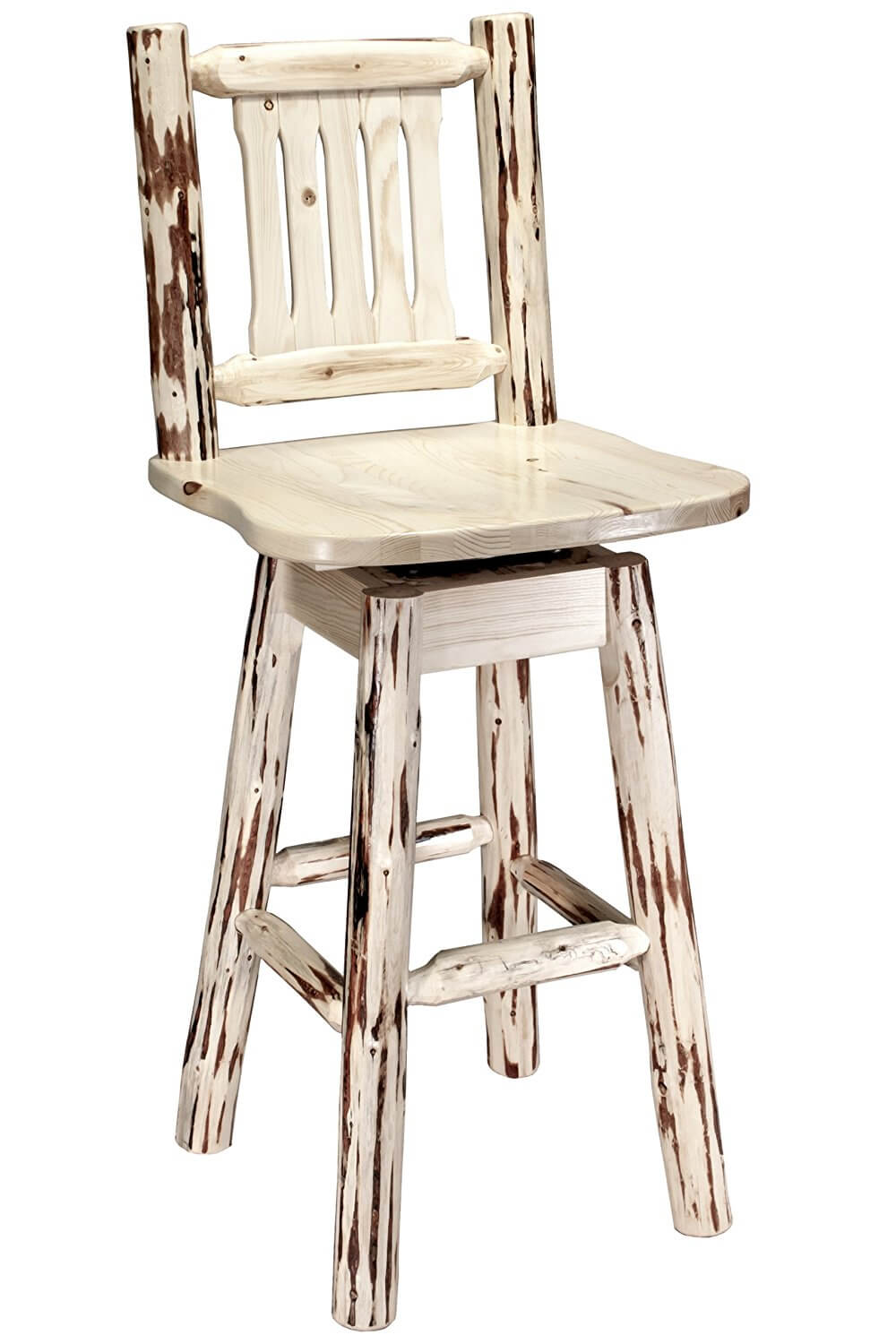 Pine Wood Bar Stool